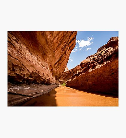 Lower Coyote Gulch - Grand Staircase - Escalante, Utah Photographic Print
