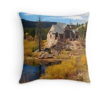 Chapel on the rock Throw Pillow