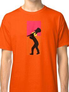 Pop Art Guitar Smash Endless Classic T-Shirt