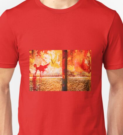 Gutter and decayed wall Unisex T-Shirt