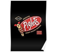 Piglet Snacks Poster