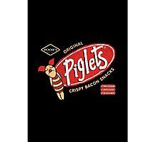 Piglet Snacks Photographic Print