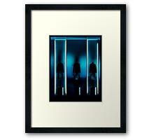 Matrix Replication Framed Print