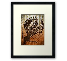 supernaut one Framed Print