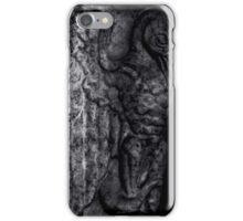 Gargoyle Portrait - Right iPhone Case/Skin