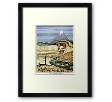 The Lonely Mountain Framed Print