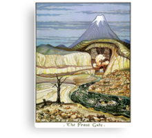 The Lonely Mountain Canvas Print