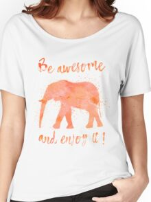 Awesome Elephant Women's Relaxed Fit T-Shirt