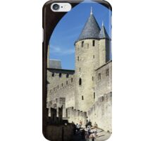 The fortified, old, town of Carcasonne, France iPhone Case/Skin