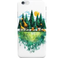 Geo Forest iPhone Case/Skin