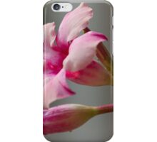 pink flower in the garden iPhone Case/Skin