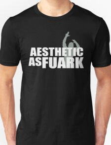Zyzz Aesthetic as FUARK Unisex T-Shirt