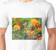 Praying Among the Marigolds Unisex T-Shirt