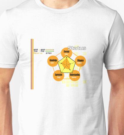 Persona 4 Status sheet Unisex T-Shirt