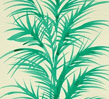 Mint Palms by Cat Coquillette