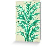 Mint Palms Greeting Card
