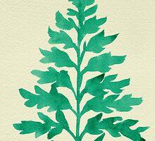 Mint Fern by Cat Coquillette
