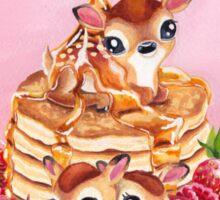 Three Pancake Deer Sticker