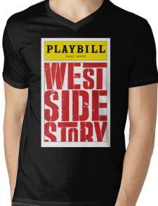 West Side Story Playbill Mens V-Neck T-Shirt