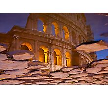 Colosseum reflection Photographic Print