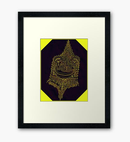 Happy Chapter Framed Print