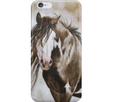 The Bald Faced Stallion iPhone Case/Skin