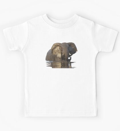 Elephant Bronze Beauty of Botswana Kids Tee
