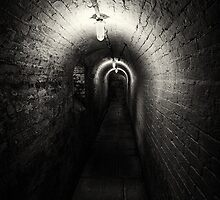 The Workhouse Cellar Corridor by Mick Gosling