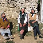Village Ladies in Romania by Dennis Melling