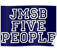 Five people Uni type Poster