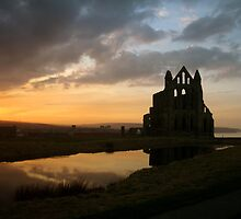 WHITBY SUNSET by NorthernWitch