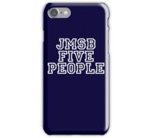 Five people Uni type iPhone Case/Skin
