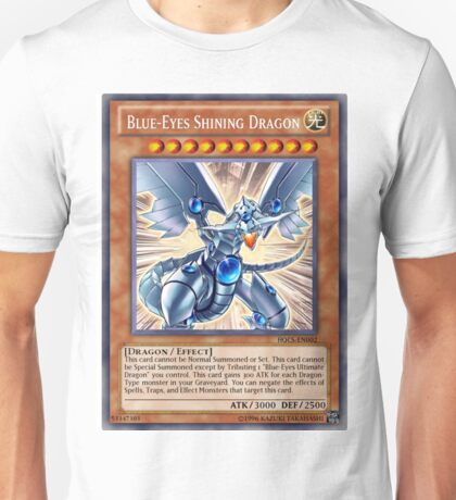 Blue Eyes Shining Dragon Unisex T-Shirt