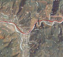 USGS TOPO Map Colorado CO Glenwood Springs 20110506 TM Sticker