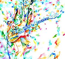 JOE STRUMMER playing live by lautir