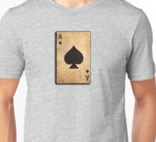Ace of spades card poker pack Unisex T-Shirt