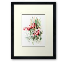 """Residents of Green Fields"" from the series ""Blossoming Planet"" Framed Print"