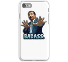 Neil deGrasse Tyson Reaction meme - We got a badass over here! iPhone Case/Skin