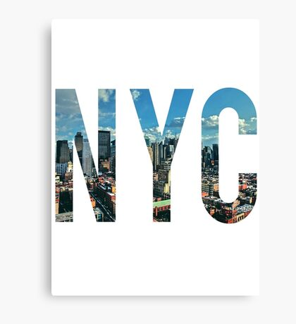 NEW YORK CITY. Canvas Print