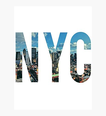 NEW YORK CITY. Photographic Print