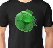 broken cracked green glass ball Unisex T-Shirt