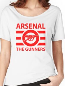 Arsenal - The gunners Women's Relaxed Fit T-Shirt
