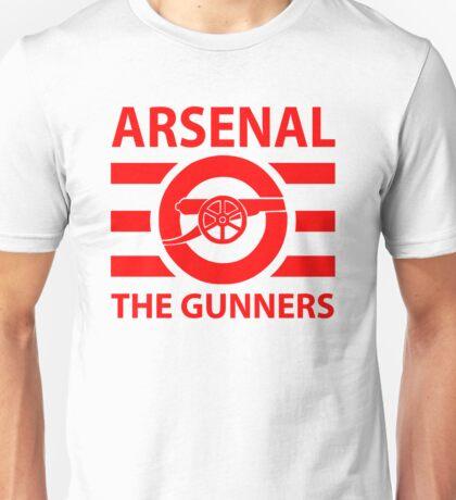 Arsenal - The gunners Unisex T-Shirt
