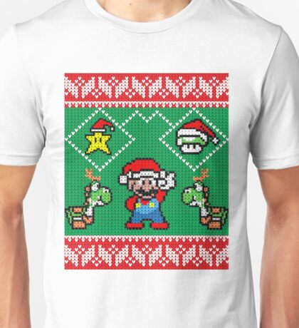 Super Mario Ugly Christmas Unisex T-Shirt