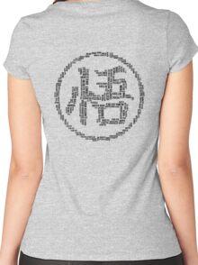 DBZ Kanji Women's Fitted Scoop T-Shirt