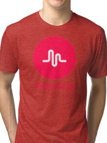 musical.ly musically Tri-blend T-Shirt