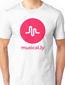 musical.ly musically Unisex T-Shirt