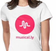 musical.ly musically Womens Fitted T-Shirt