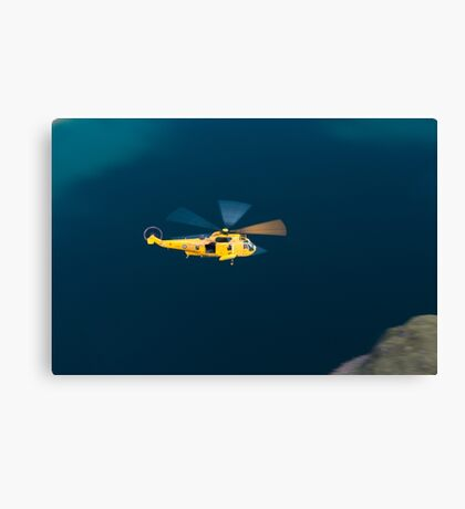 RAF Sea King Rescue Helicopter Canvas Print