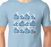 Winter In The Village Unisex T-Shirt